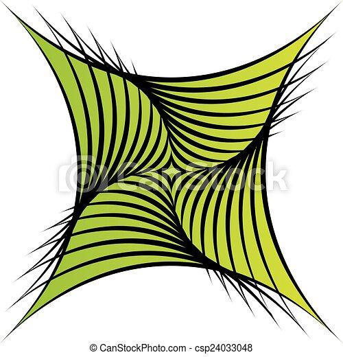 ilusão óptica, coloridos - csp24033048