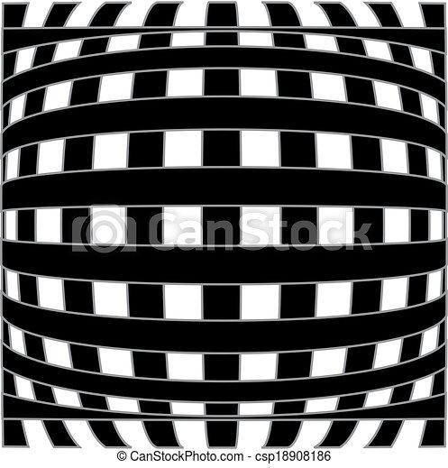 ilusão óptica, fundo - csp18908186