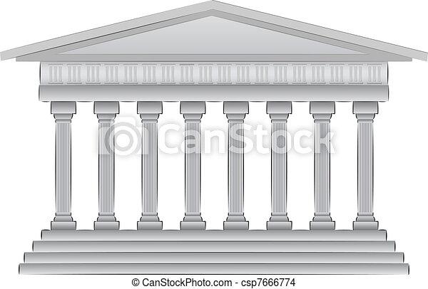 Ilustración de vector griego - csp7666774