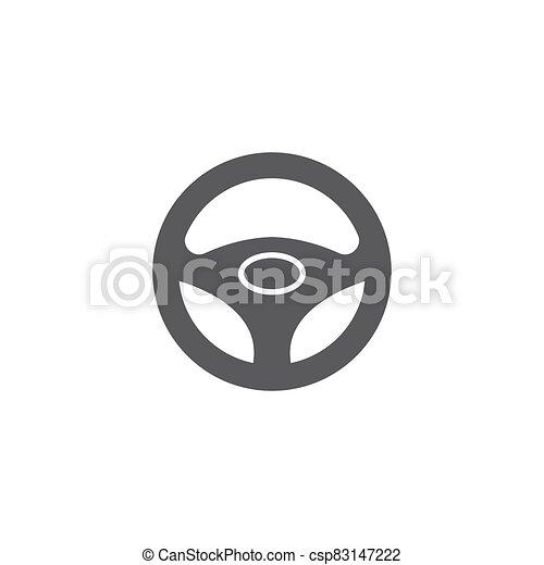 ilustración, conductor, plantilla, icono, vector - csp83147222