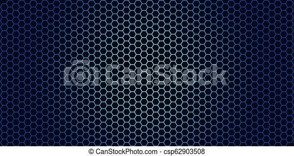 Trasfondo de Honeycomb. Ilustración de vectores de origen geométrico - csp62903508
