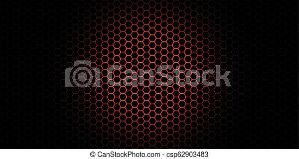 Trasfondo de Honeycomb. Ilustración de vectores de origen geométrico - csp62903483