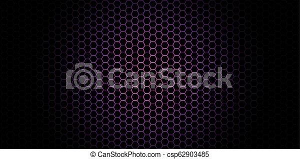 Trasfondo de Honeycomb. Ilustración de vectores de origen geométrico - csp62903485