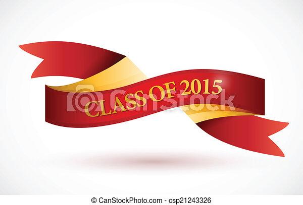 Ilustración de banderas rojas de 2015 - csp21243326