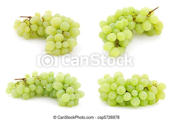 imágenes, conjunto, uvas - csp5726978