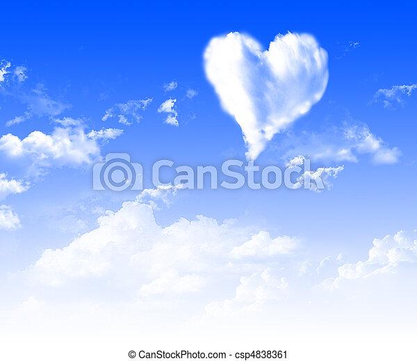 imágenes, corazón - csp4838361