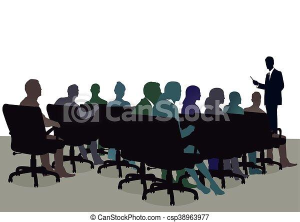 im, セミナー, office.eps - csp38963977