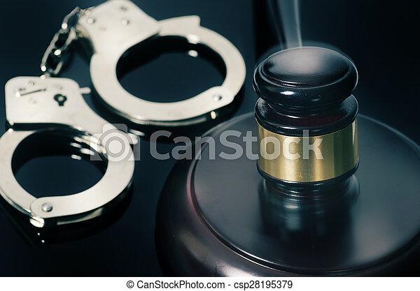 image, concept, légal, droit & loi - csp28195379