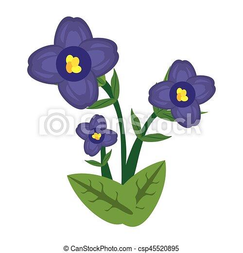 Image Fleur Violette Africaine 10 Fleur Image Violet Eps