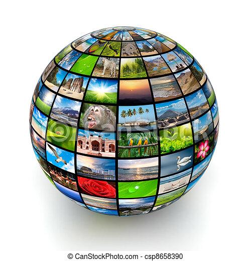 image, globe - csp8658390
