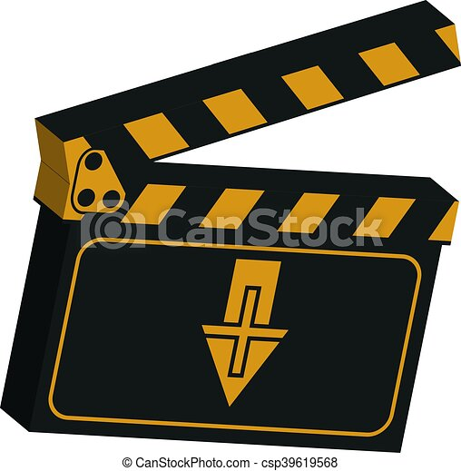 image of a clapboard - csp39619568
