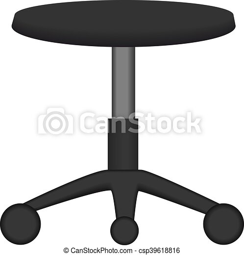 image of a stool - csp39618816