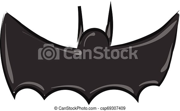 Image Of Batman Symbol Vector Or Color Illustration It Is A