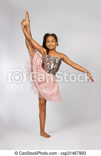 Split Flexible girl