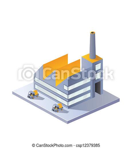 image, usine - csp12379385