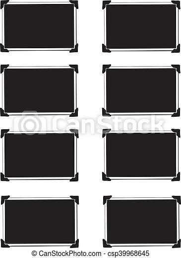 image, vide, photo, coins - csp39968645