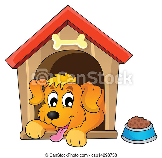Image with dog theme 1 - csp14298758