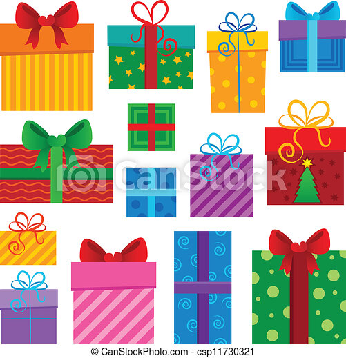 Image with gift theme 1 - csp11730321