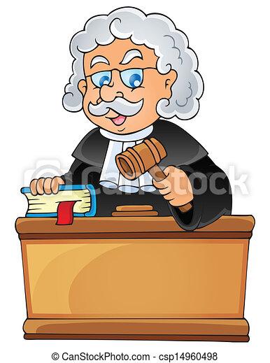 Image with judge theme 1 - csp14960498