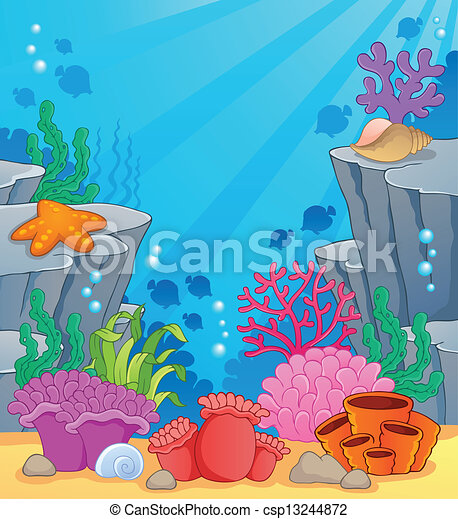 Image with undersea topic 3 - csp13244872