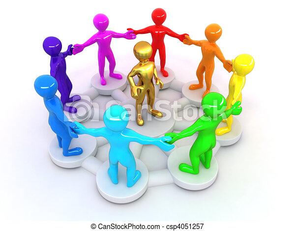 Imagen de liderazgo - csp4051257