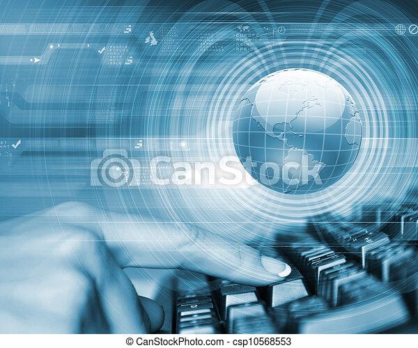 Imagen de tecnología global - csp10568553