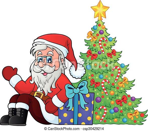 La imagen de Santa Claus - csp30429214