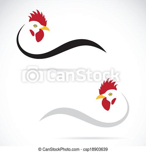 Imágenes de un gallo - csp18903639