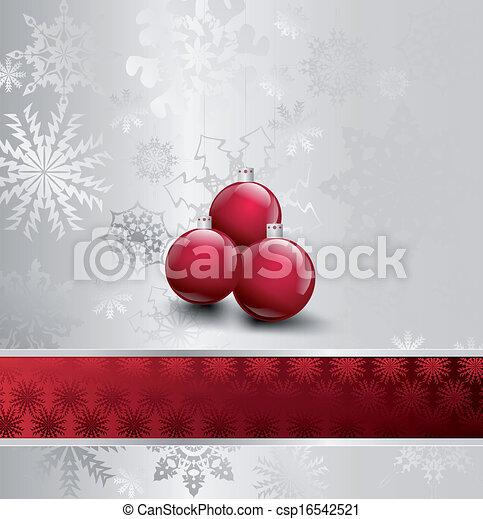 Ilustración de Navidad con baile. Vector - csp16542521