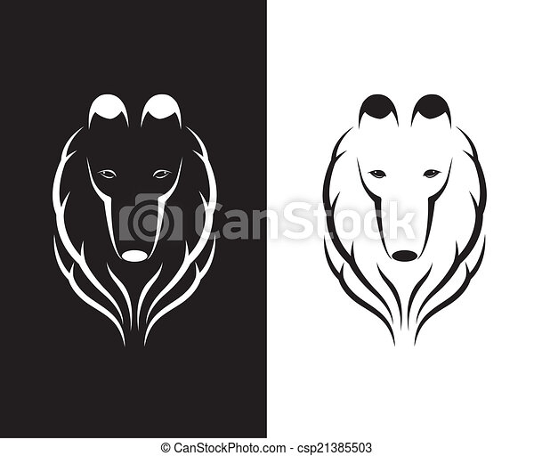 imagens, shetland, cabeça, vetorial, sheepdog - csp21385503