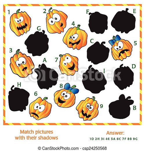 images, puzzle, -, visuel, allumette - csp24250568