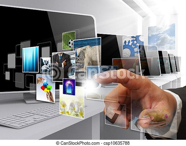 images, ruisseler, internet - csp10635788