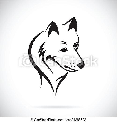 Images t te vecteur loup t te arri re plan vecteur loup images blanc - Tete de loup dessin ...
