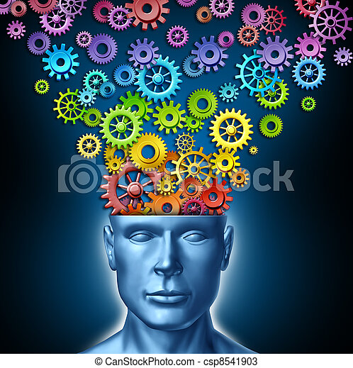 Imaginación humana - csp8541903