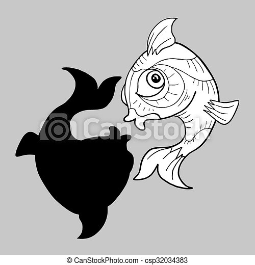 Creative Design Of Imaginative Pisces Symbol