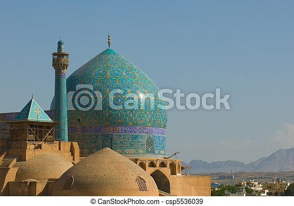 Imam Mosque, Isfahan, Iran - csp5536039