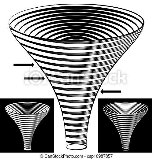 imbuto, grafico, halftone - csp10987857