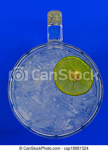 ime on top water glass - csp18881324
