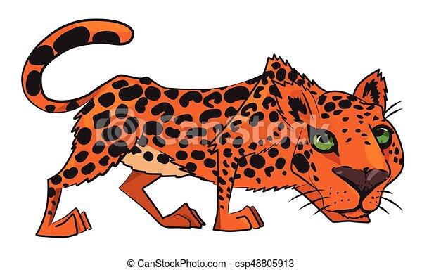 Immagine leopardo cartone animato leopard immagine picture