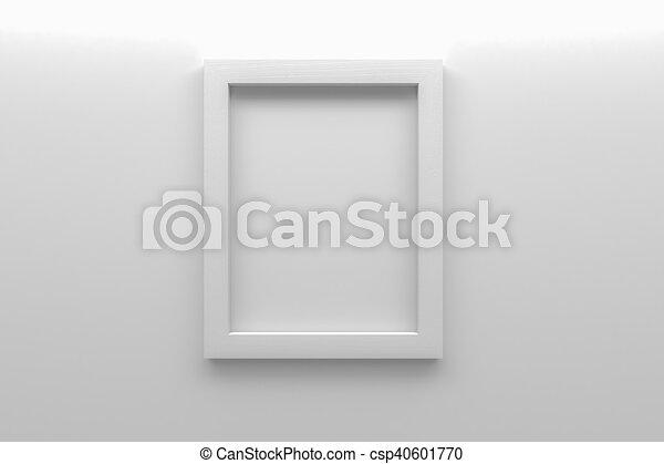 immagine, struttura parete, interpretazione, vuoto, bianco, 3d - csp40601770