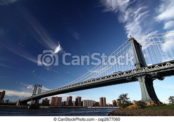 immagine, york, nuovo, ponte - csp2677060