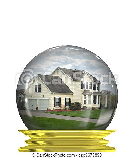 immobiliers, marché, prévisions - csp3673833