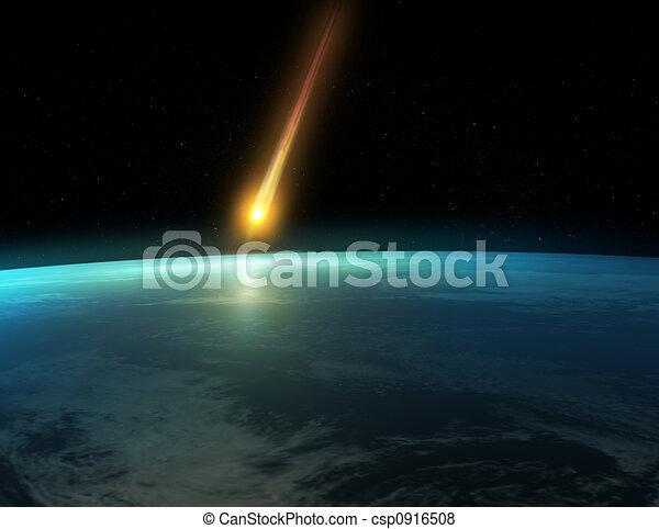impact, météore - csp0916508