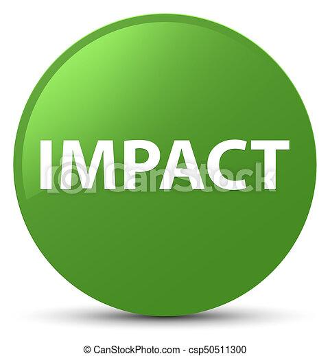 Impact soft green round button - csp50511300