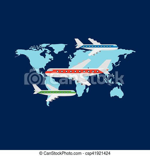 import, eksporter, konstruktion - csp41921424