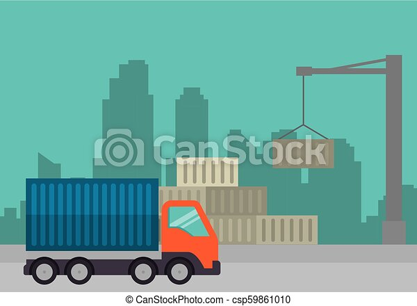 import free shipping truck - csp59861010