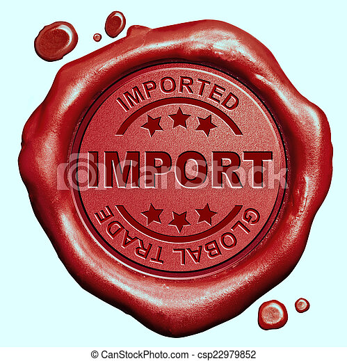 import stamp - csp22979852