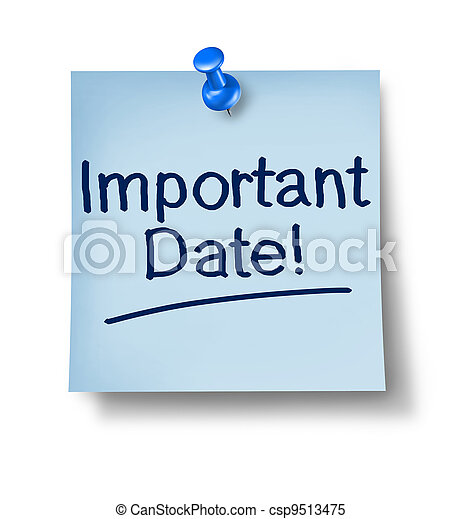 Important Date Office Note - csp9513475