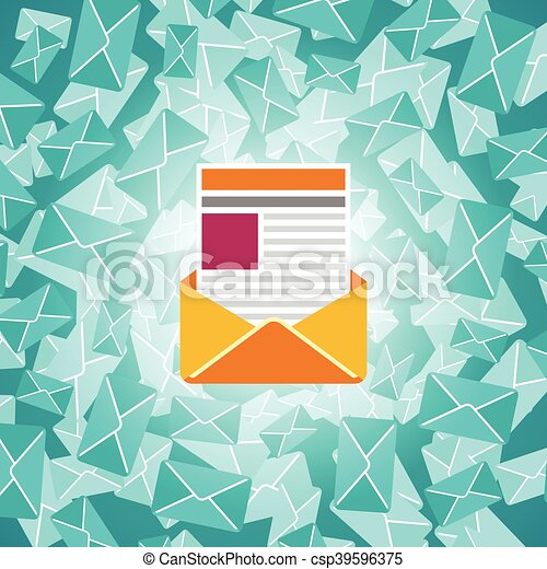 Important message vector concept in flat style - csp39596375