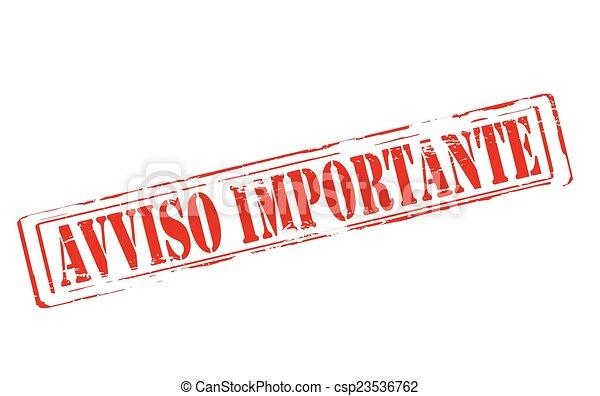 Important notice - csp23536762